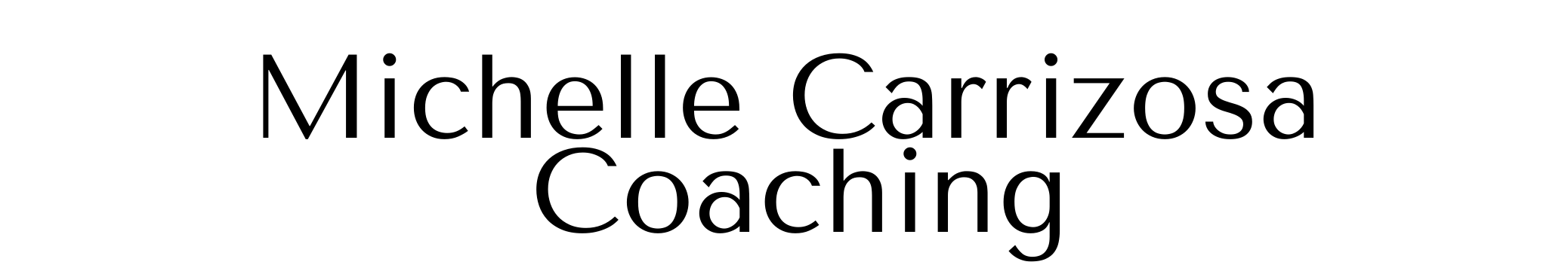 Michelle Carrizosa Coaching